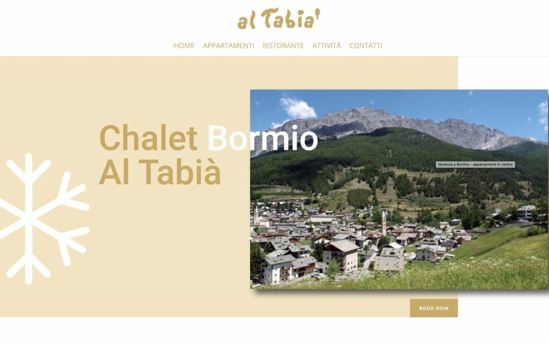 Sito Chalet Bormio